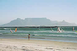 Cape West Coast, Blaauberg Strand Information and Facts