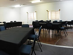 Large conference venue at Pine Lodge Resort in George
