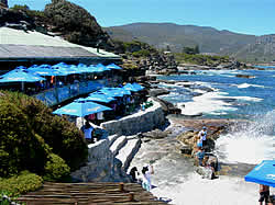 Beachfront Restaurant in Hermanus