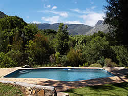 Sunbird Mountain Retreat in Hout Bay offering both bed and breakfast and self catering accomodation.