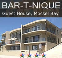 Bat-T-Nique Guest House in Mossel Bay