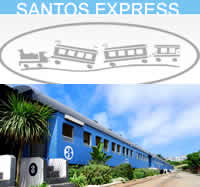 Santos Express Train Lodge