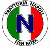 Trattoria Napoli is an Italian restaurant in Fish Hoek