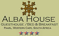Alba House is 4 Star accredited Bed and Breakfast in Paarl