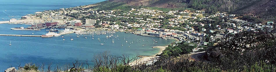 Simonstown aerial view