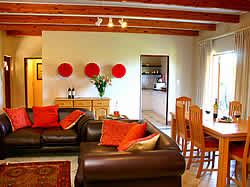 Alluvia Wine Estate luxury Self Catering House sleeping up to eight people