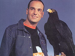 Mark Shuttleworth's visit to Eagle Encounters at Spier